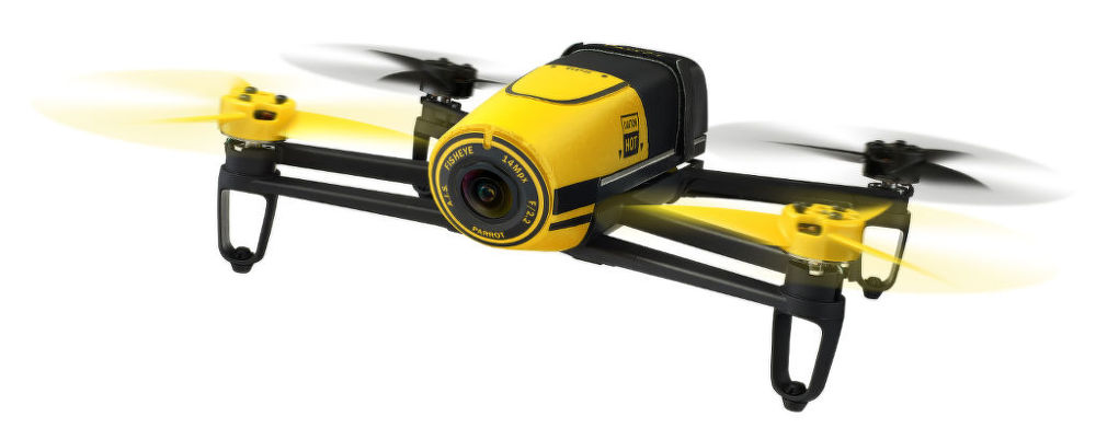 Parrot Bebop Drone Yellow