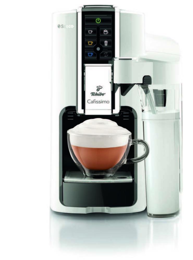 TCHIBO Cafissimo Latte Bianco (bílá) - Kapslový kávovar