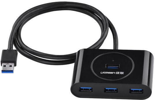 Ugreen 20290 (černý) - USB 3.0 4portový HUB