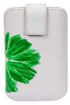 Winner pouzdro PKL 3 Flower vel.7 (bílé / zelené)