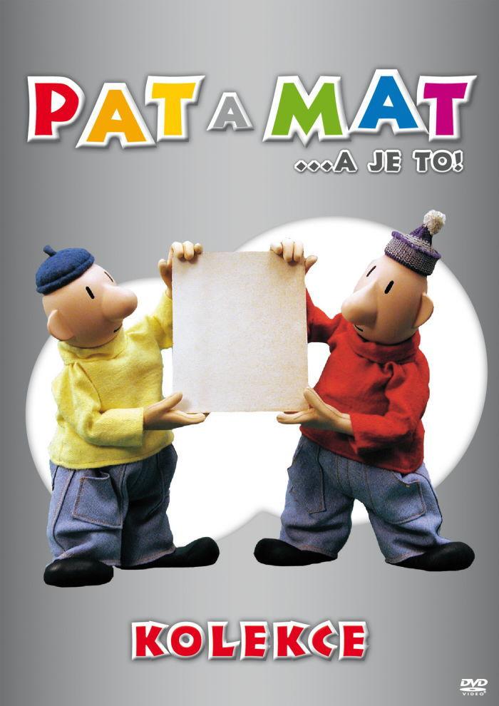 Pat a Mat 5-8 - 4xDVD