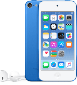 Apple iPod Touch 64GB (modrý) MKHE2HC/A