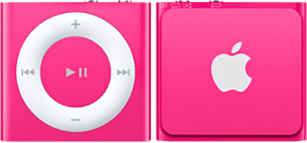 Apple iPod Shuffle 2GB MKM72HC/A (růžový)