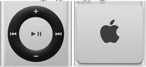 Apple iPod Shuffle 2GB (stříbrný) MKMJ2HC/A