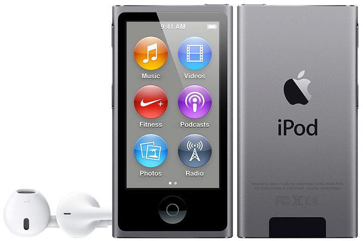 Apple iPod Nano 16GB (šedý) MKN52HC/A