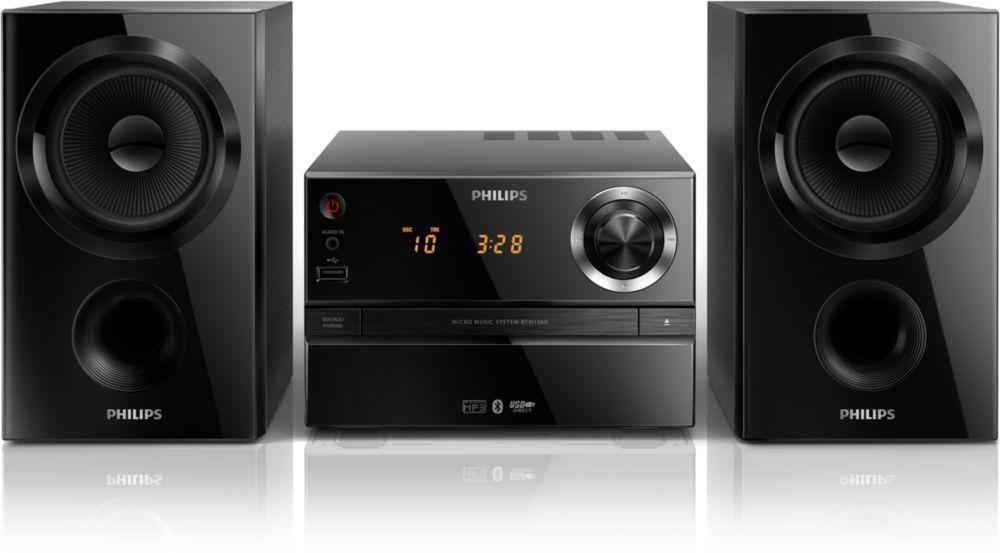 Philips BTM1360 (černý)