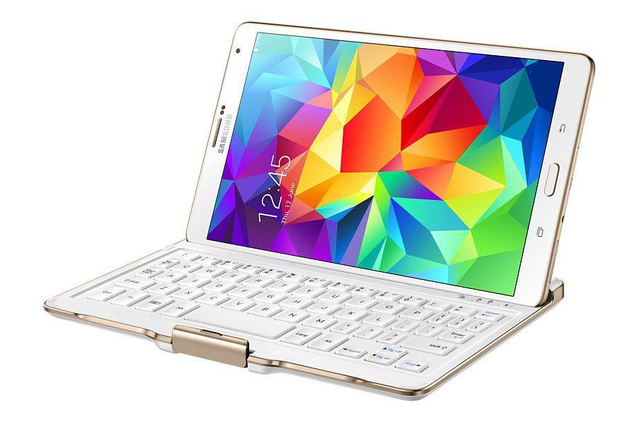 """Samsung pouzdro s BT kláves. na TAB S 8.4"""" (bílá)"""