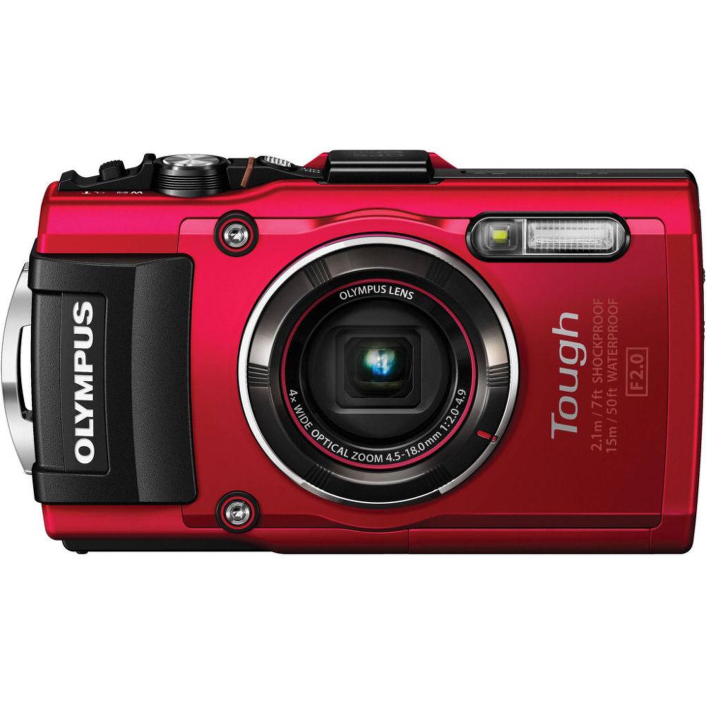 Olympus TG-4 (červený)