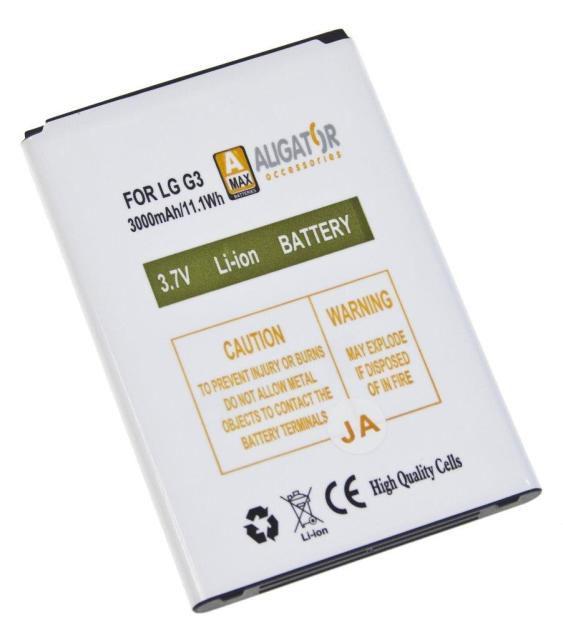 Aligator baterie pro LG G3 Li-ION 3000 mAh