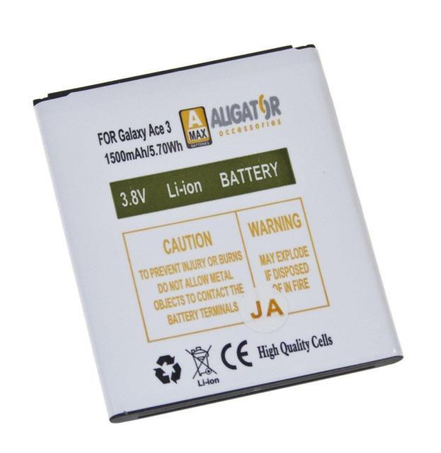 Aligator baterie pro Samsung Galaxy Ace 3 Li-ION 1500mAh