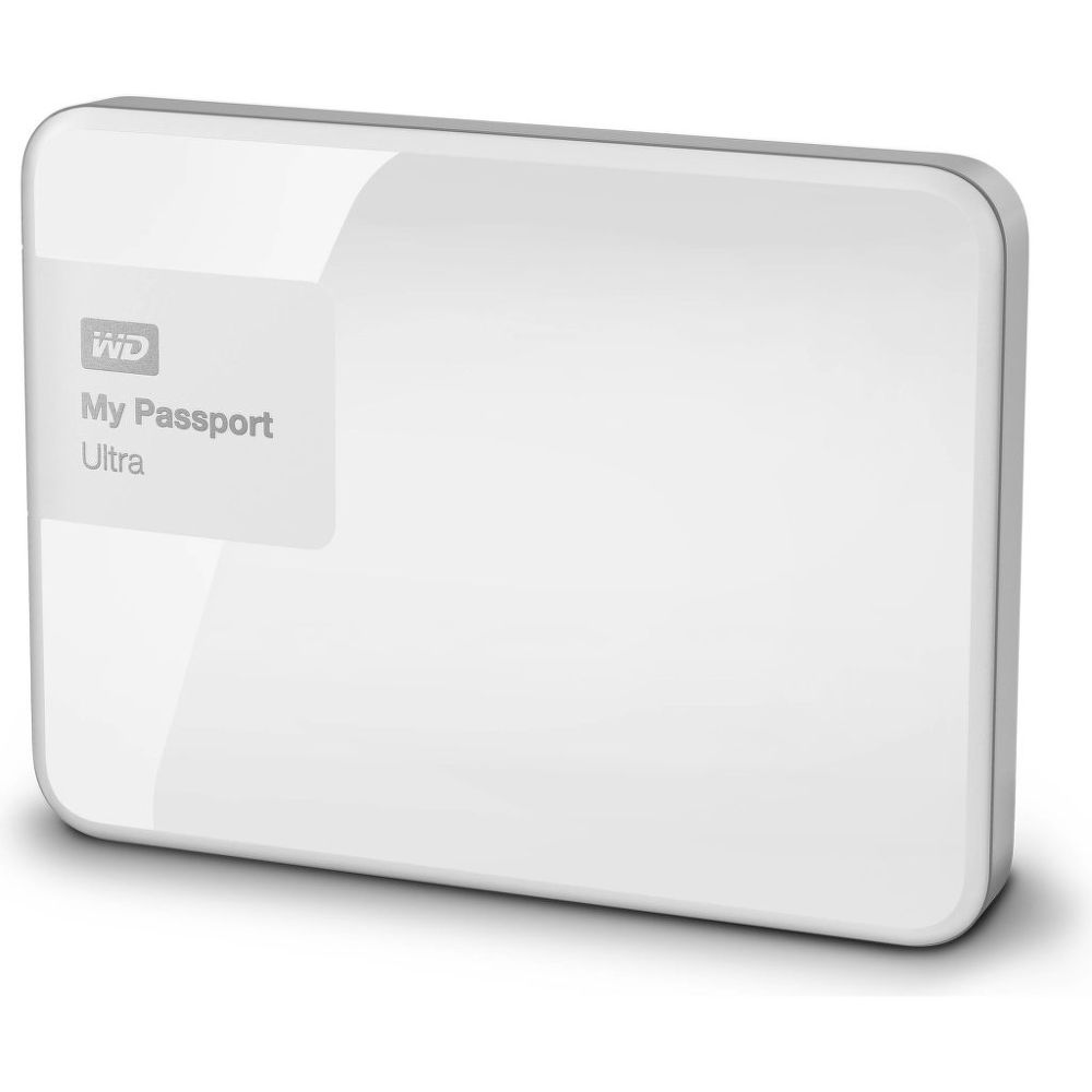 Western Digital MY PASSPORT ULTRA 1TB (bílá)