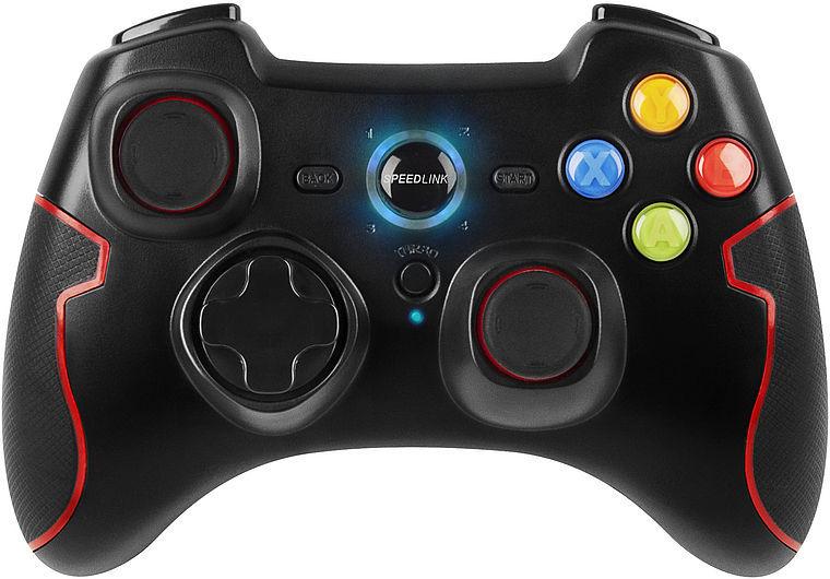 SpeedLink TORID Gamepad - Wireless pro PC/PS3