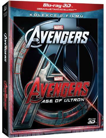 Avengers kolekce - 1. - 2. (3D+2D) - Blu-ray film