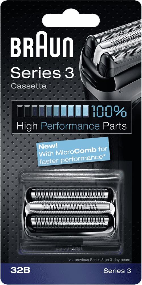 Braun CombiPack Series 3-32B holicí fólie a břitový blok