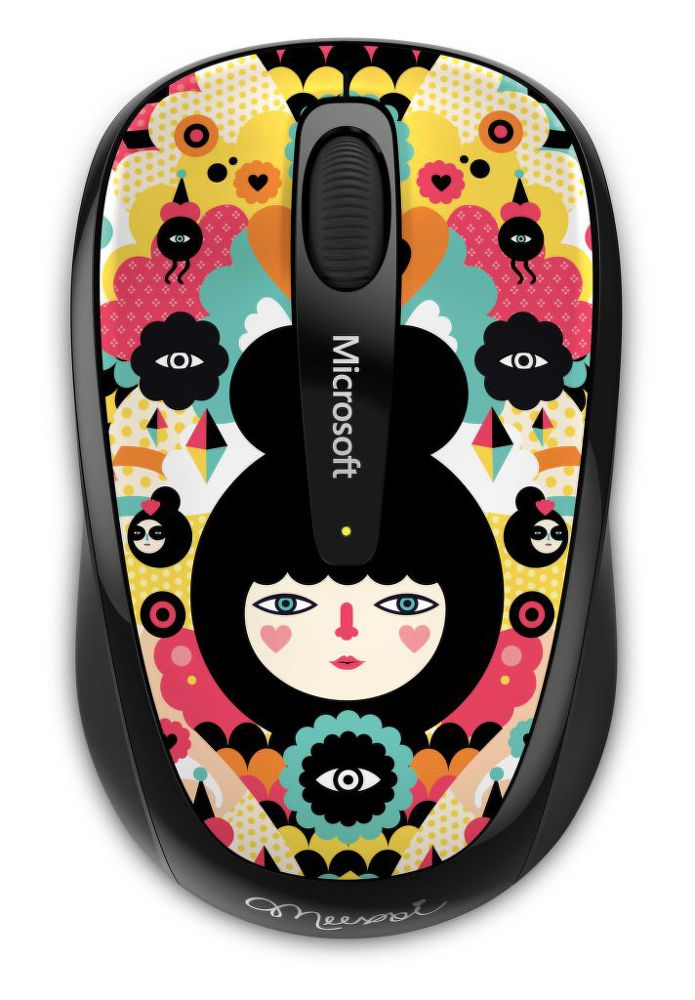 Microsoft Wireless Mouse 3500 Artist, Muxxi
