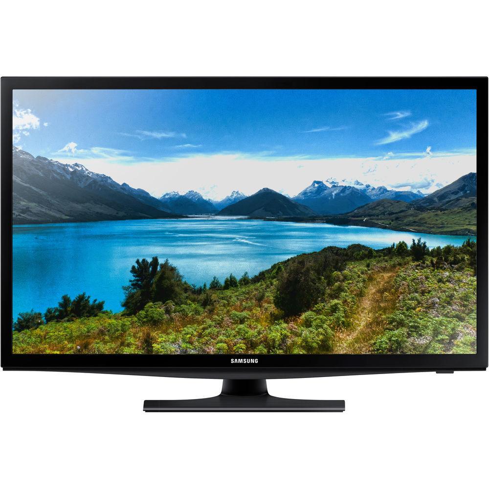 Samsung UE28J4100AW (černá) + dárek Set 3 DVD filmů zdarma