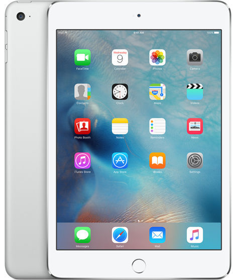 Apple iPad mini 4 Wi-Fi 128GB (stříbrný) MK9P2FD/A