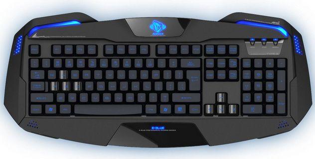 E-Blue Auroza, klávesnice (černá)