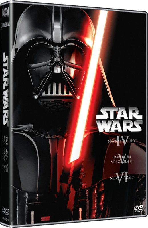 Star Wars (IV, V, VI) - 3xDVD film
