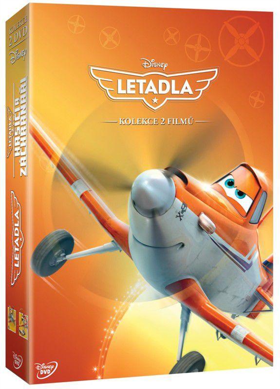 Letadla - kolekce 1.-2. - 2x DVD
