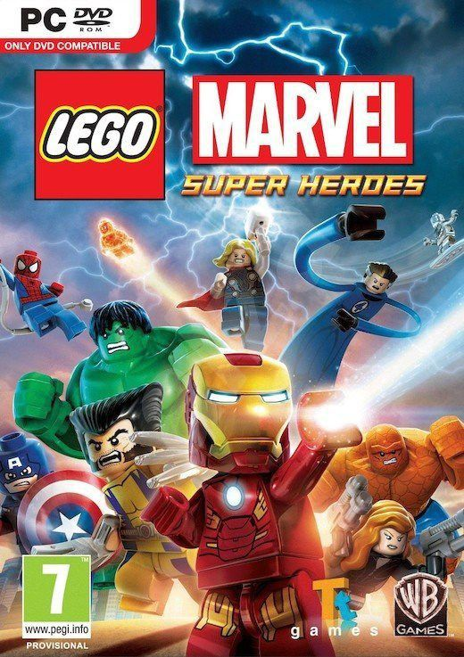Lego Marvel Super Heroes - hra pro PC