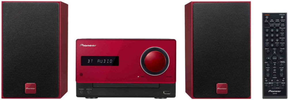 Pioneer X-CM35-R (černo-červený)