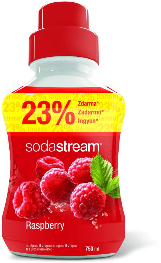Sodastream malinový sirup (750 ml)