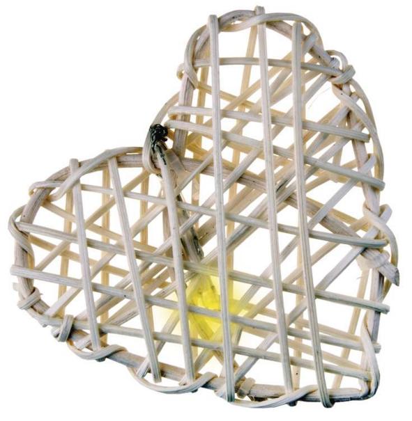 Emos 16 LED 3M IP20 WW - vánoční srdce