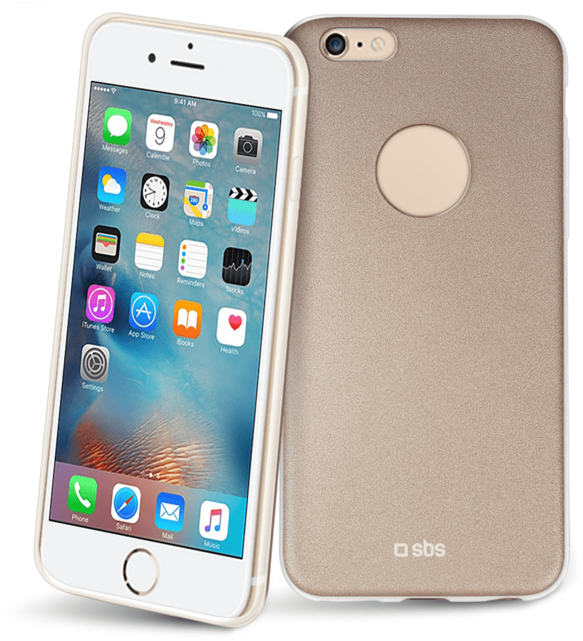 SBS extra-slim pouzdro pro iPhone 6 (zlaté)