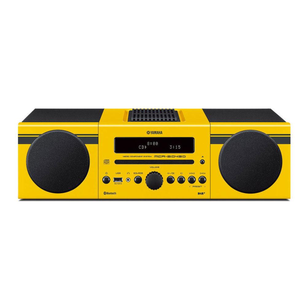 Yamaha MCR-B043D (žlutý)