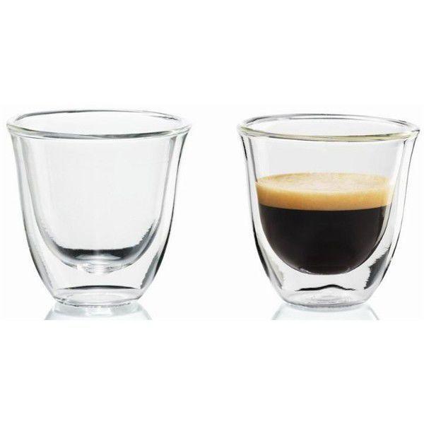DeLonghi set 6x sklenice na espresso