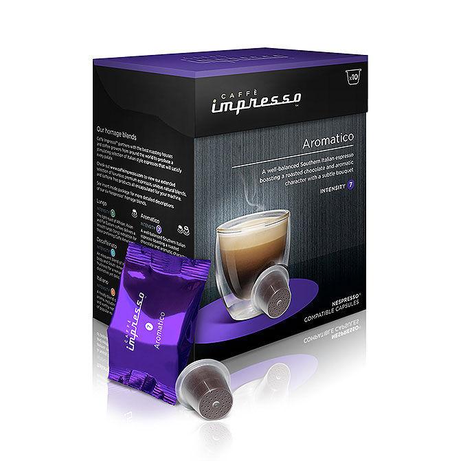 Caffe Impresso Aromatico - káva na kapsle