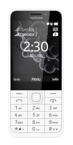 Nokia 230 Dual SIM (světlá stříbrná)