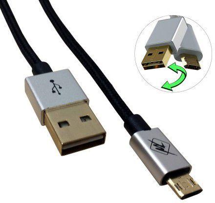 InHouse MKF-Reversible USB Gold 1,2 (černý)