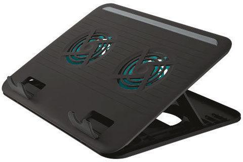Trust Cyclone Notebook Cooling Stand 17866 černý - chladící podložka