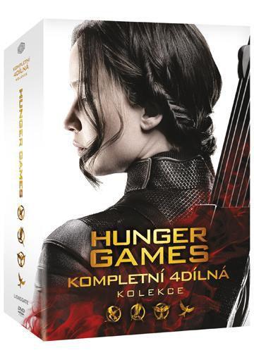Hunger Games kolekce 1-4 - 4xDVD