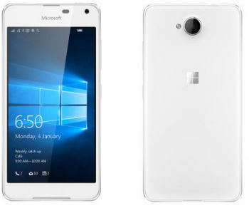 Microsoft Lumia 650 Dual SIM (stříbrný)