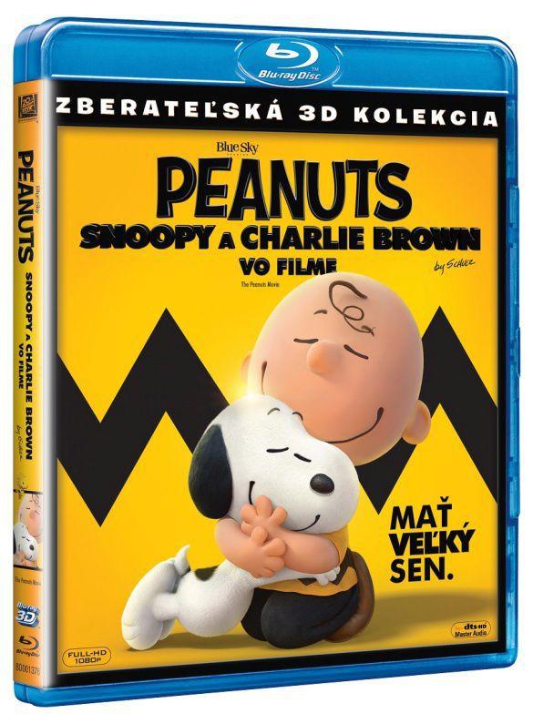 Peanuts: Snoopy a Charlie Brown ve filmu (2D+3D) - Blu-ray film