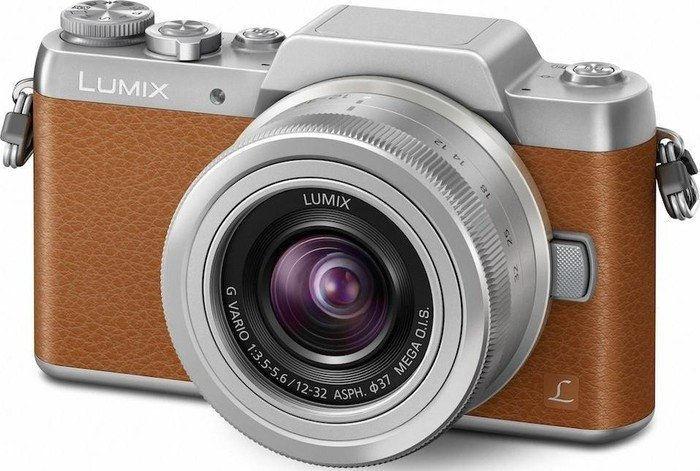 Panasonic Lumix DMC-GF7 (hnědý) - kompakt