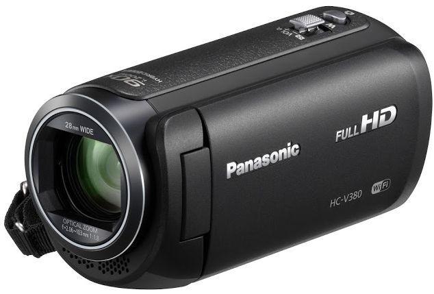Panasonic HC-V380EP (černá)