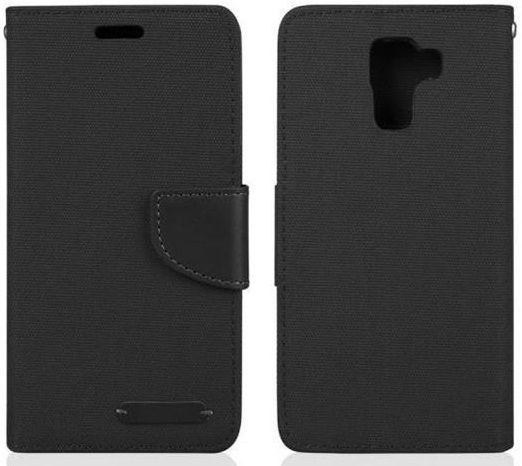 Aligator Book Fancy ochranné pouzdro pro Samsung J100 J1 (černé)