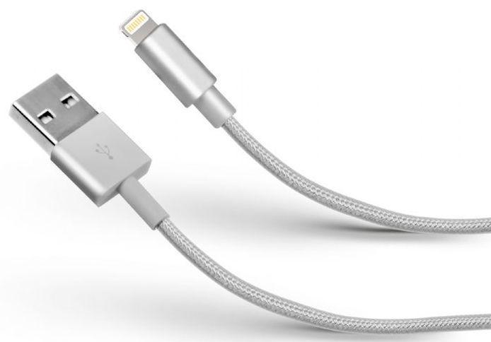 SBS Apple Lightning datový kabel (stříbrný)