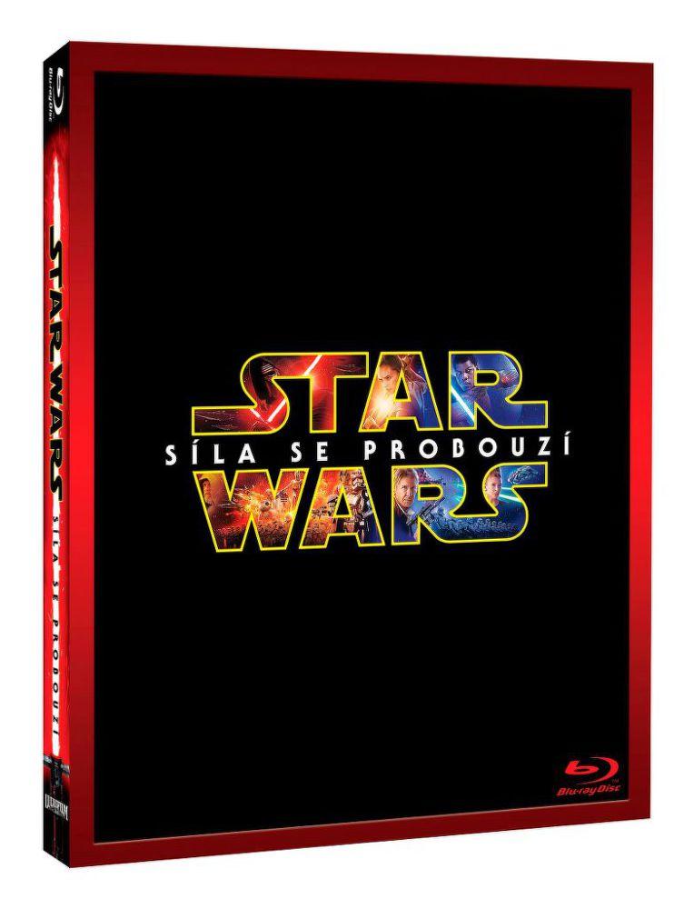 Star Wars: Síla se probouzí - Limit. edice Darkside - Blu-ray film