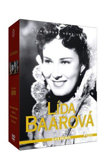 Lída Baarová kolekce - 4xDVD film