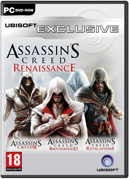 Assassin´s Creed Renaissance (AC2+ACB+ACR) - hra pro PC