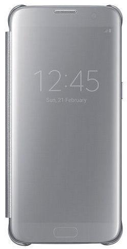 Samsung Clear View EF-ZG935CS SG S7e (stříbrný)