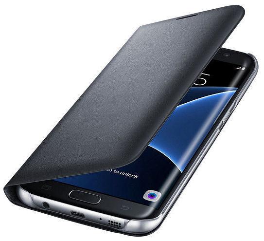 Samsung EF-NG935PB LED View SG S7e (černé)