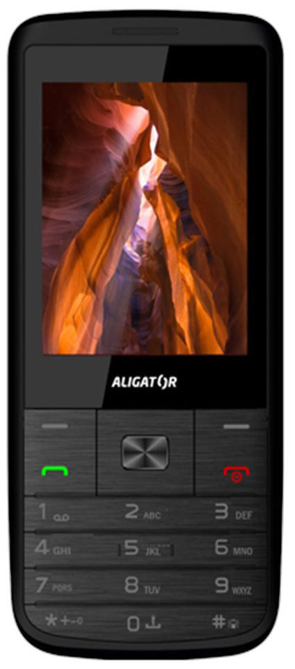 Aligator D920 Dual sim (černo-stříbrný)