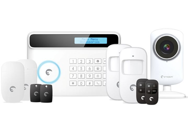 eTiger S4 Combo Vid Secual Sim - bezpečnostní systém s Video/GSM