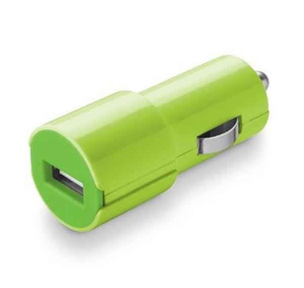 CellularLine Style&Color autonabíječka USB, 1A (zelená)